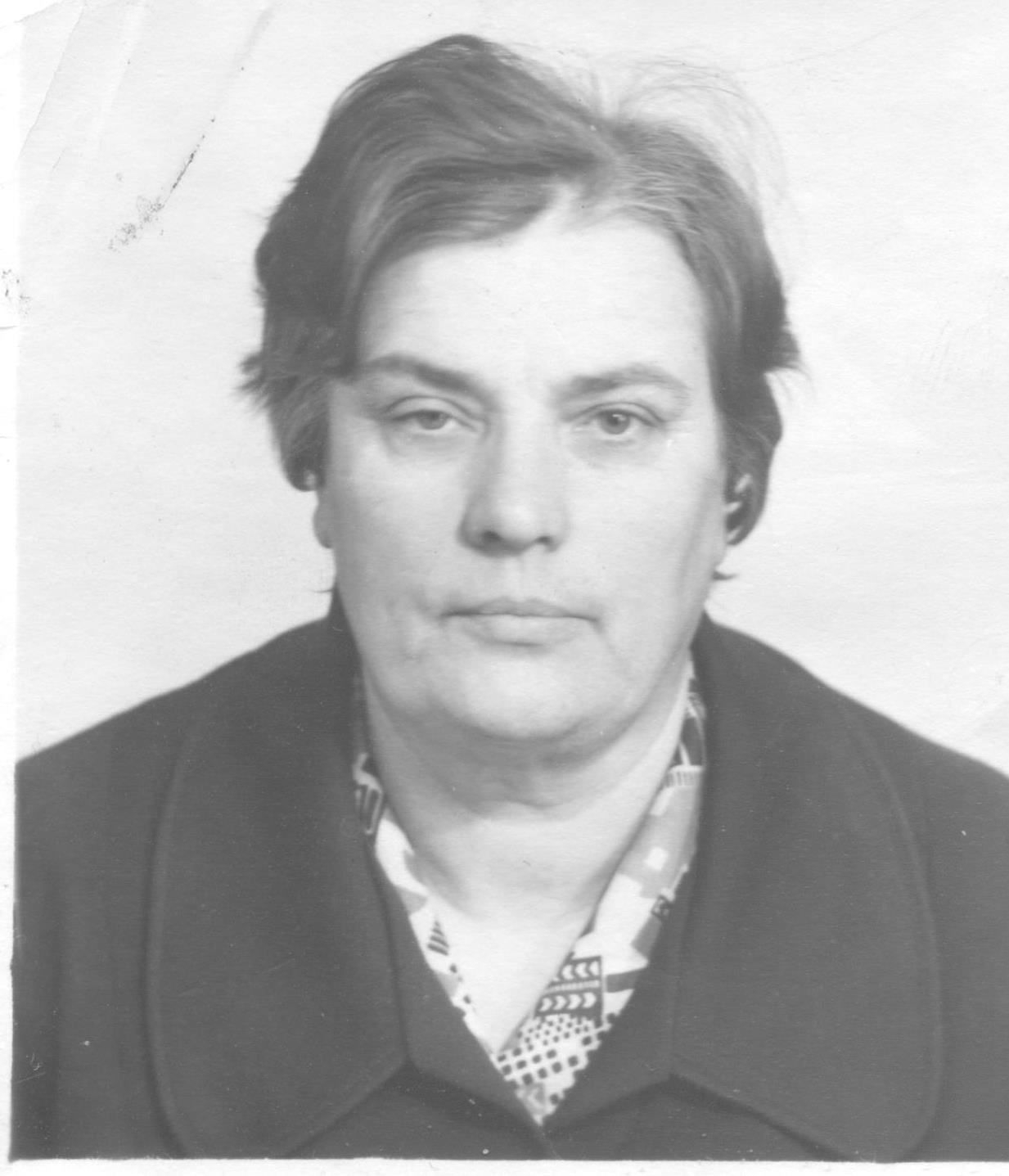 Клавдия Андреевна Костерина, учитель русского языка и литературы. 80-е годы