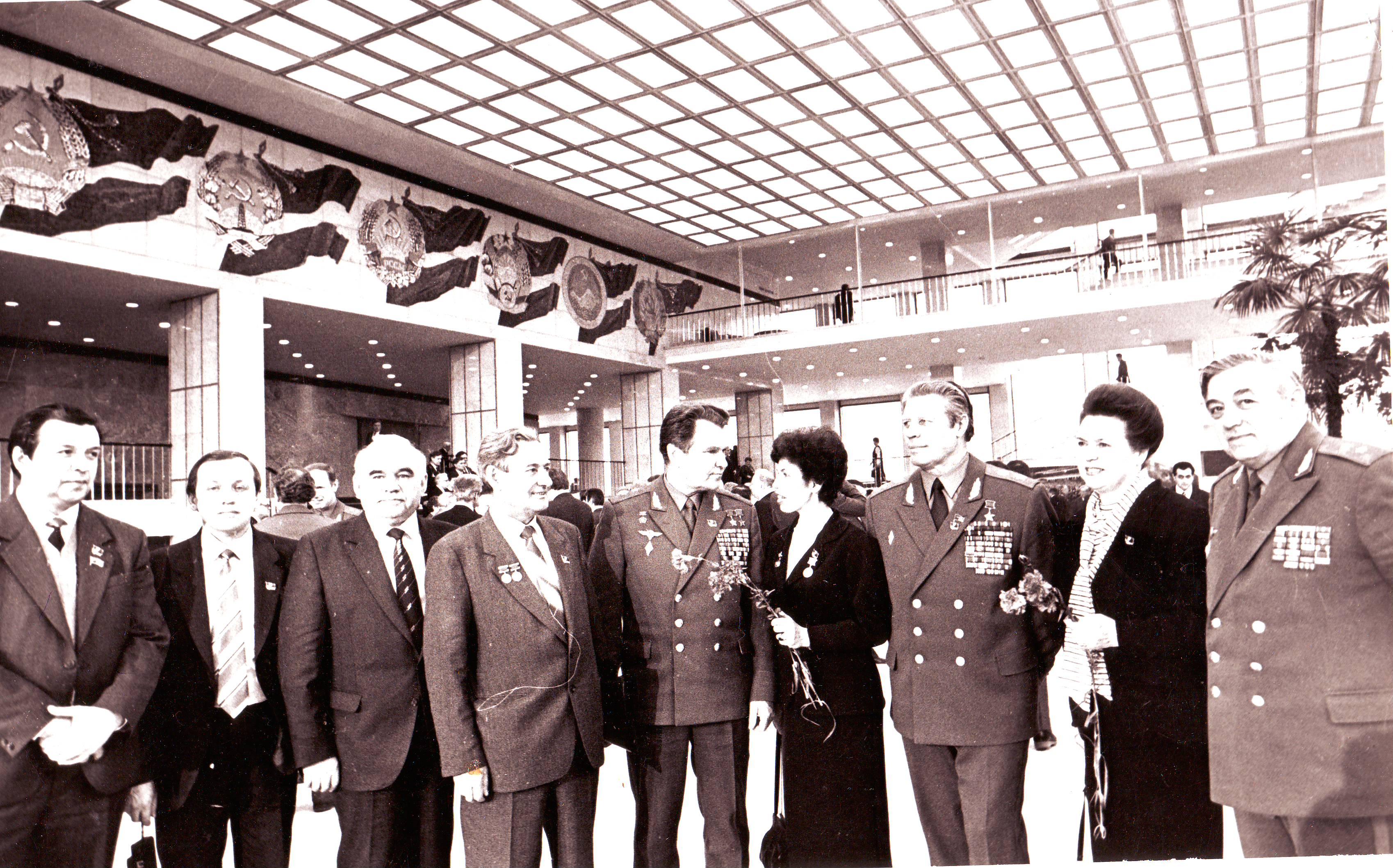 Лариса Иовна Шубина - делегат съезда. 1987 год