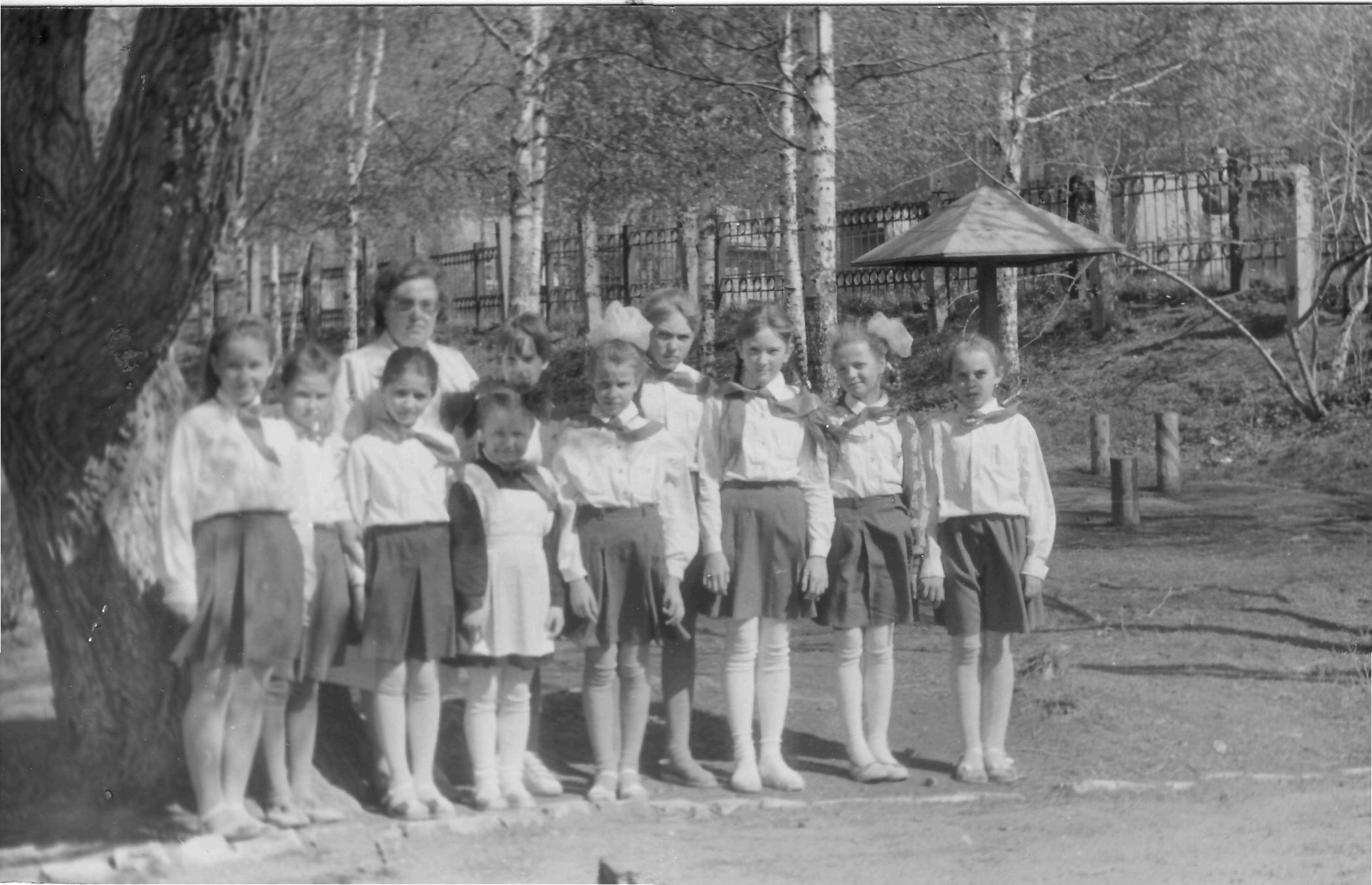С Галиной Павловной Бацкалевой. 80-е