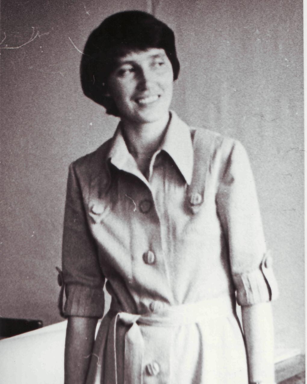 Татьяна Константиновна Третьякова 80-е годы