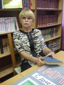 Киоссе  Валентина Константиновна, руководитель музея гимназии