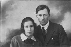 С.Н. Егоров с женой Е.Н. Егоровой