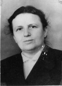 Коган Фаня Даниловна, директор школы №18 в годы войны.