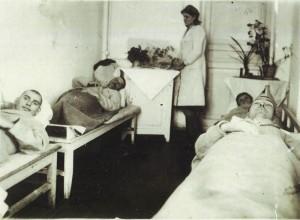 В процедурном кабинете госпиталя №2551