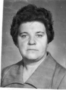 Учитель математики Александра Андреевна Пилявская