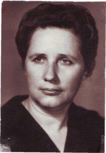 Г.Е. Зайцева, директор школы № 18 с 1971 по 1983 годы