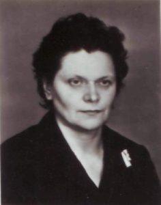Ида Леонидовна Цыпина, директор школы № 18 с 1961 по 1971 годы
